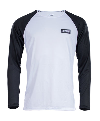 JetSurf T-shirt DRYFIT LONG SLEEVE WHITE