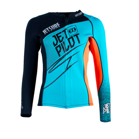 JetSurf Neopren Jacket JET PILOT BLUE/ORANGE