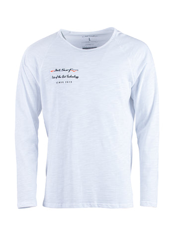 JetSurf T-shirt LONG SLEEVE SHIRT WHITE