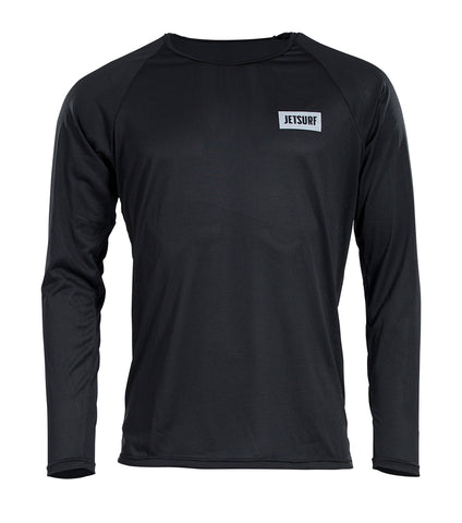 JetSurf T-shirt DRYFIT LONG SLEEVE SHIRT BLACK