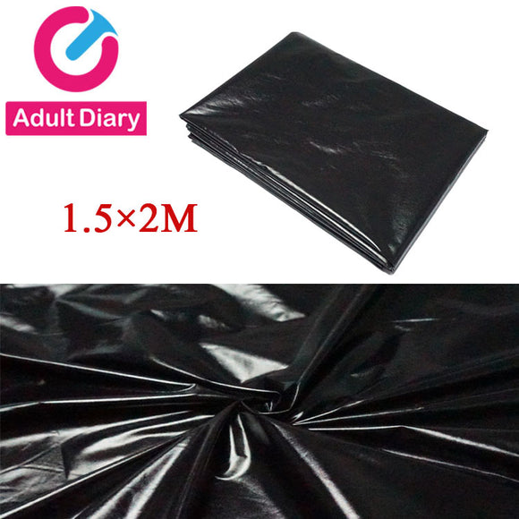 Black  Waterproof Bedding Sheet