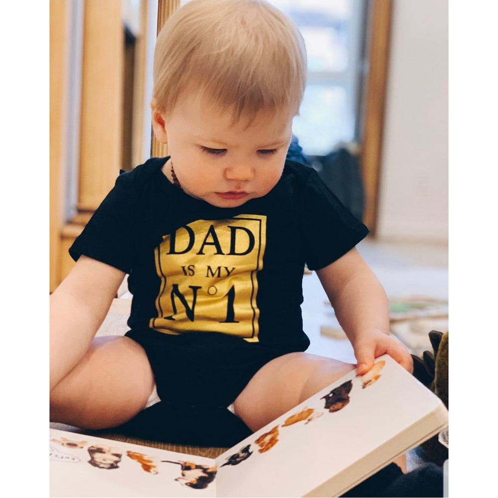 Golden Dad Bodysuit
