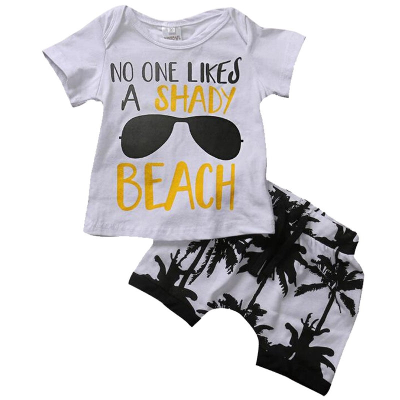 Shady Beach T-Shirt & Shorts