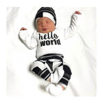 Hello World 3Pcs Outfit
