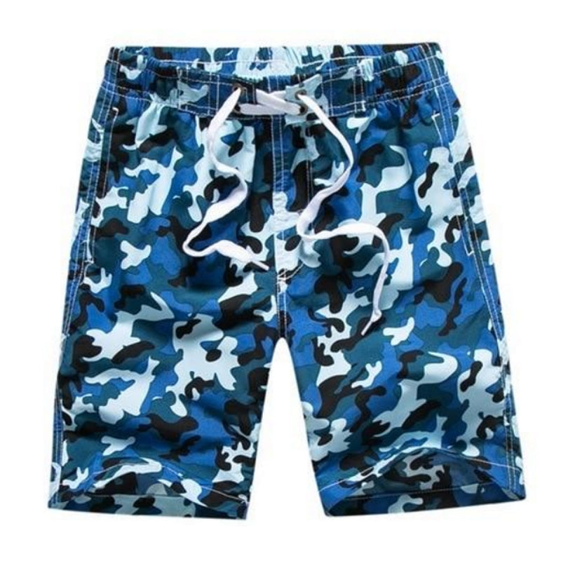Stylish Camo Quick Dry Swimwear