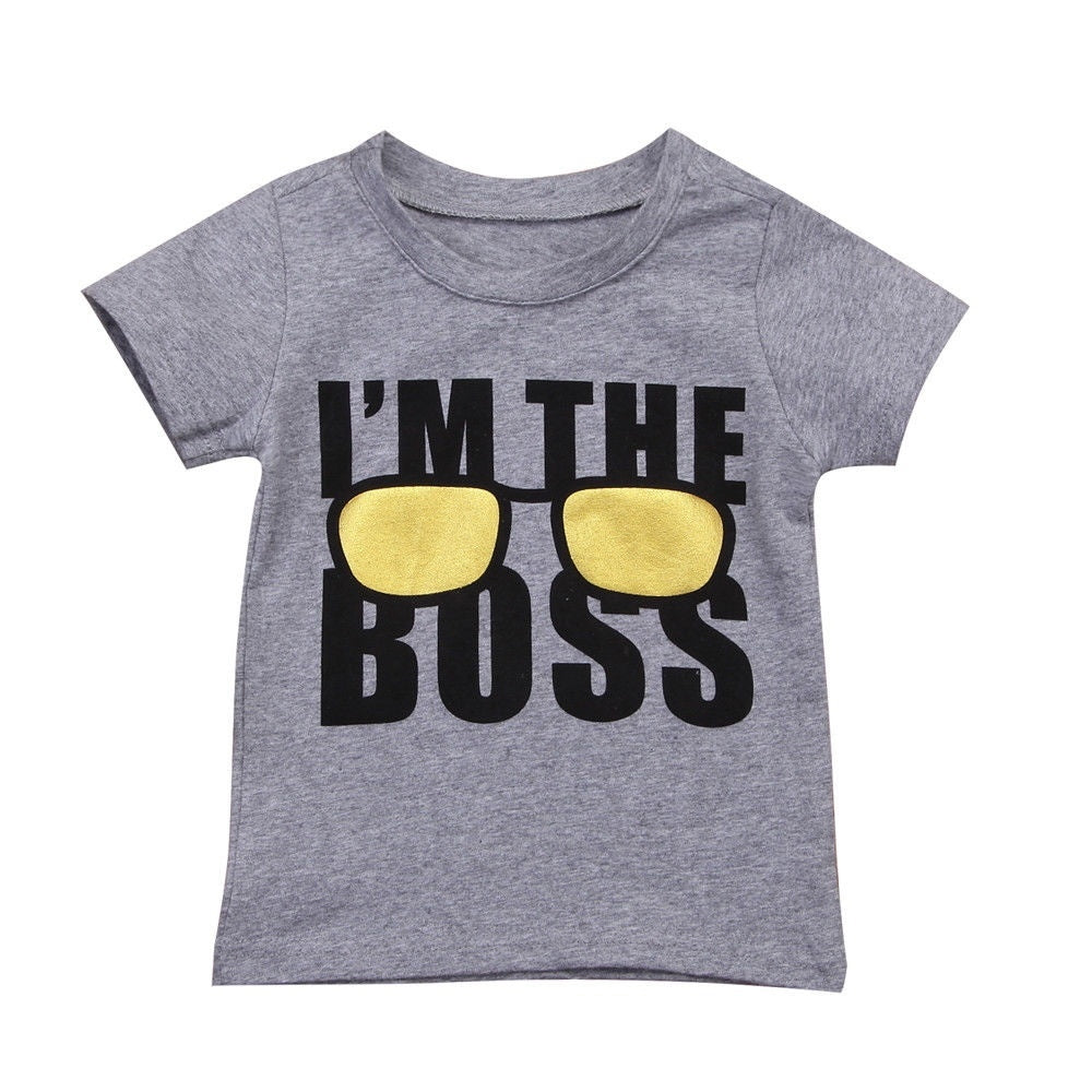 I'm The Boss Summer Shirt