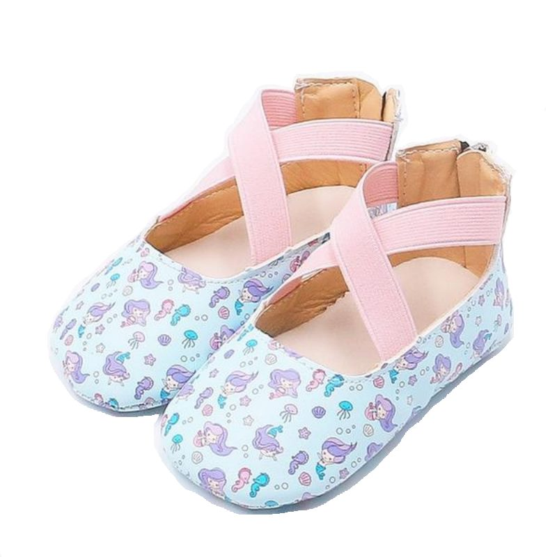 Little Mermaid Ballet Flat Shoes