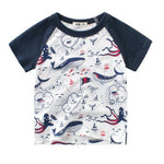 Ocean Figurines Prints T-shirt