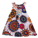 Sunny Floral Party Dress