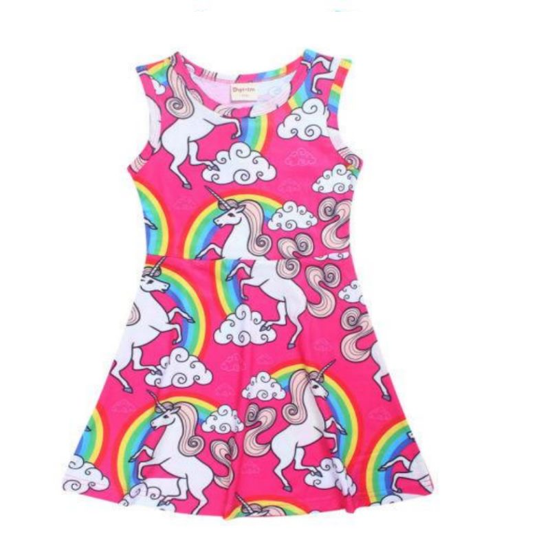Unicorn Summer Sleeveless Dress