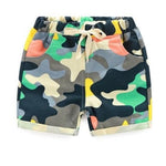 Cool Boy Camouflage Shorts