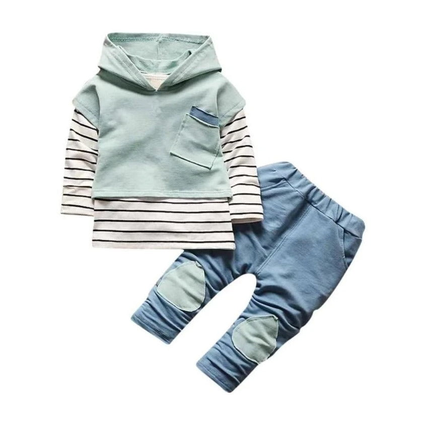 Hooded Urban Style Set