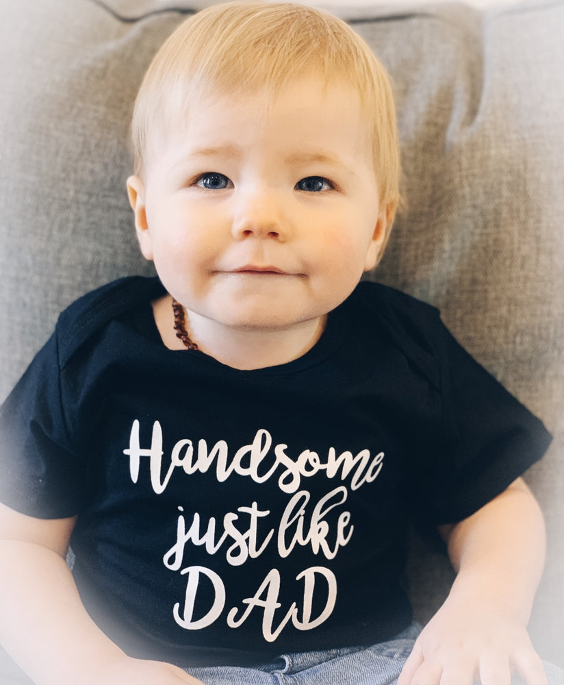 Handsome Like Dad 3pcs Set