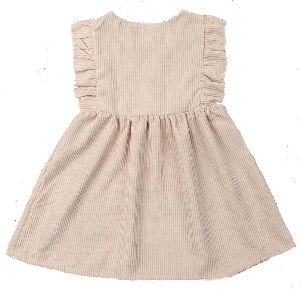 Classic A-Line Ruffled Dress