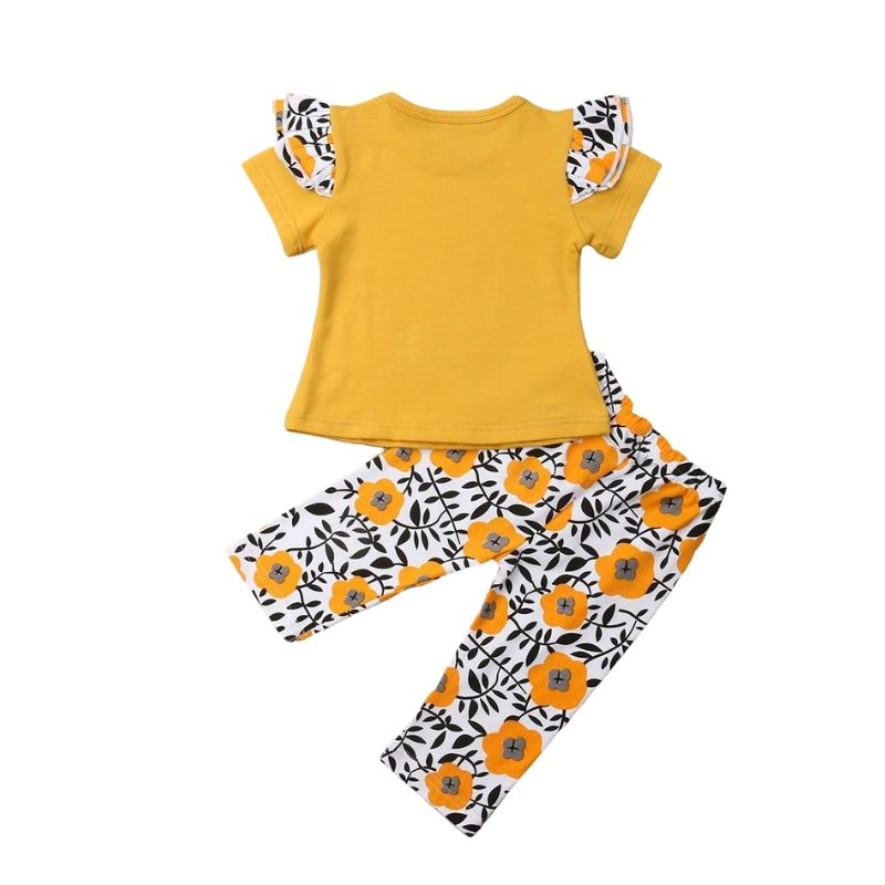 Cotton Sunny Flower 2pc set