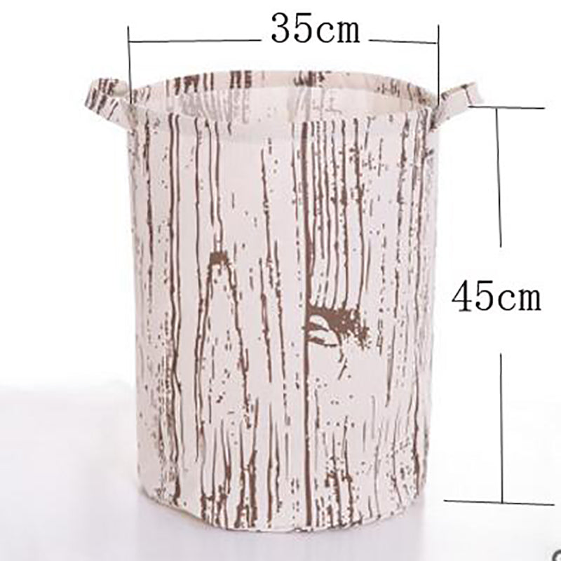 Tree Pattern Laundry Hamper Bag
