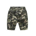 Casual Camouflage Loose Shorts