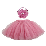 Baby Tutu Skirt with Flower Headband