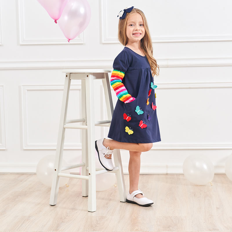Rainbow Butterflies Dress