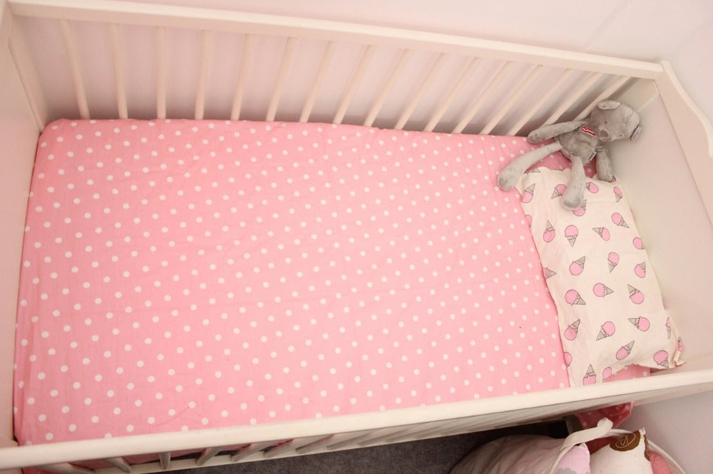 Pink Icecream 3Pcs Baby Bedding Set