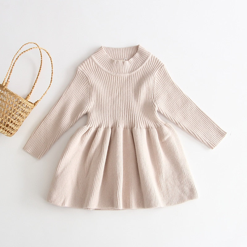 Warm & Stylish Knitted Dress