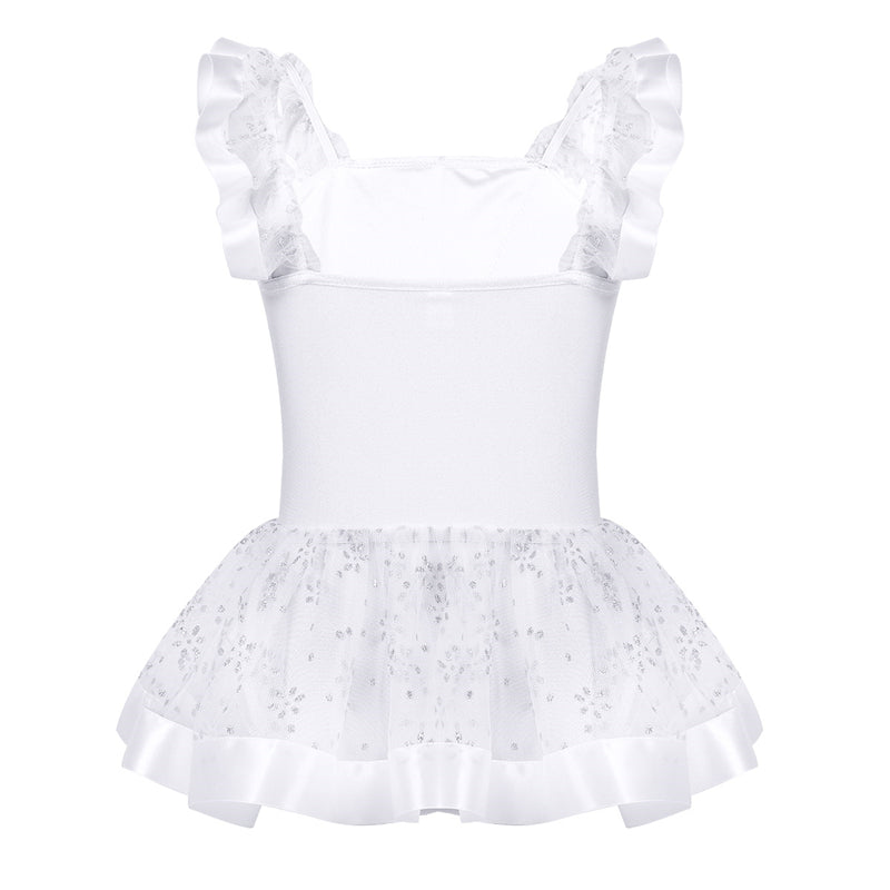 White Stardust Tutu Dress