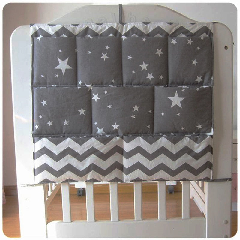 Baby Crib Organizer with Pockets