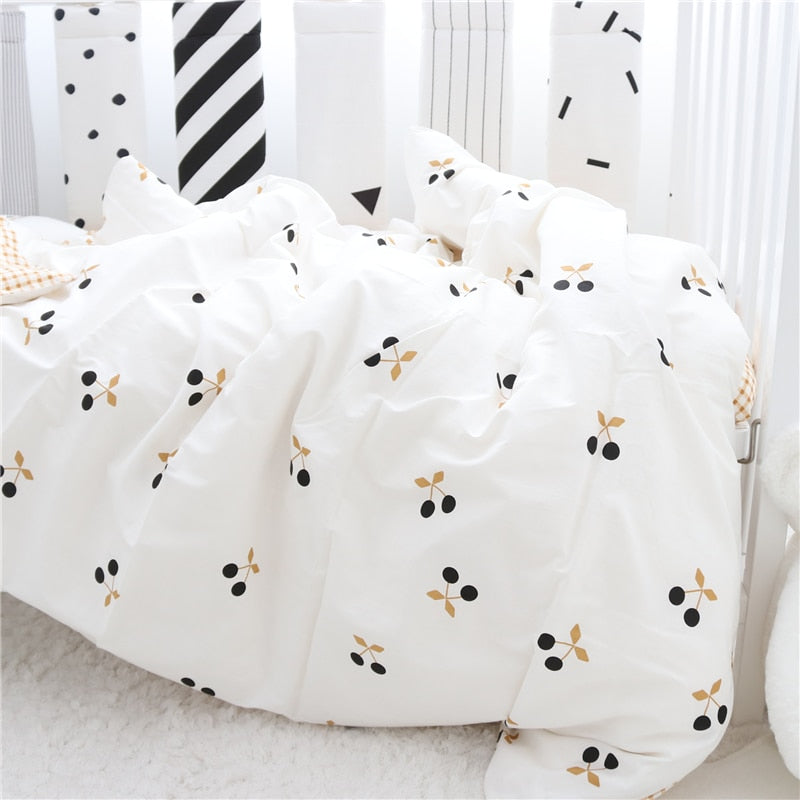 3pcs Crib Bedding Set