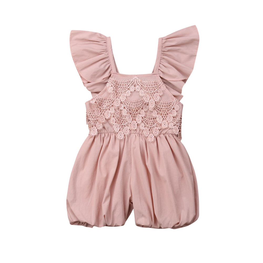 Nature Girl Lace Romper