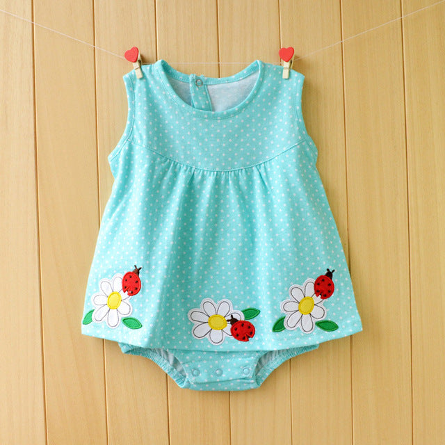 Happy Ladybugs Summer Romper