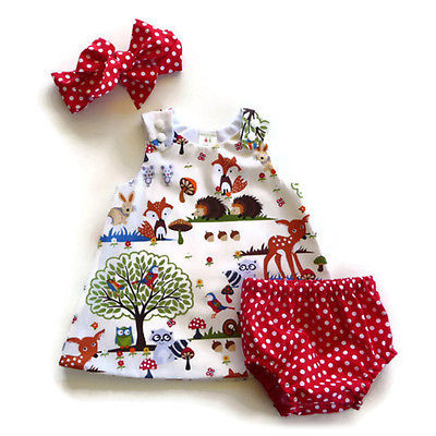 Lovely Animal Polka Dot Set