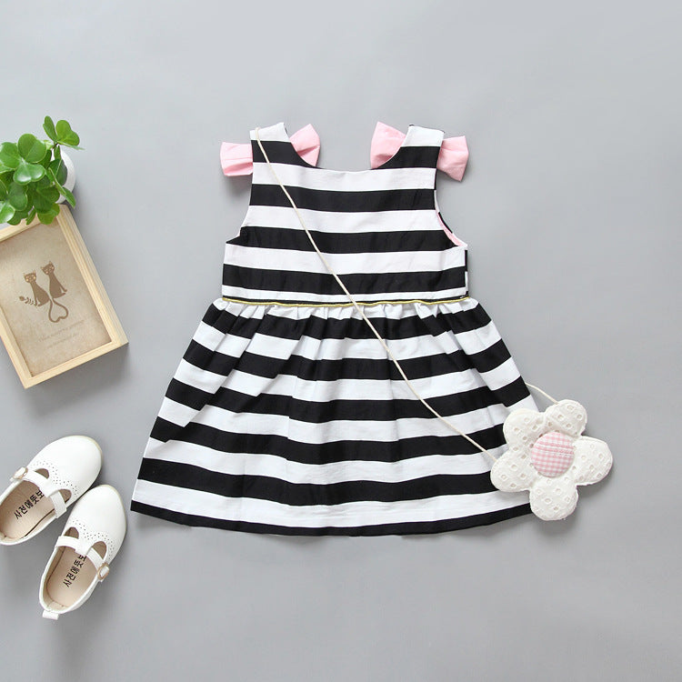 Adorable Striped Summer Dress