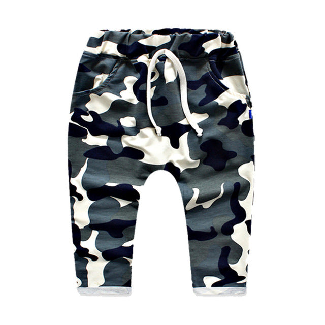 Camouflage Boys Pants