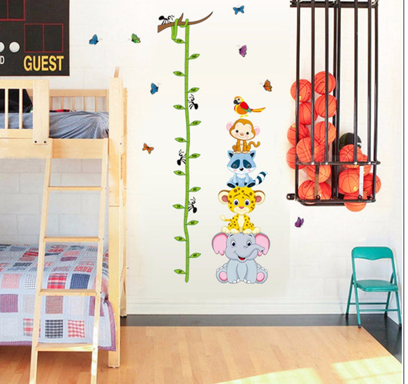 Animals Height Measure Stickers