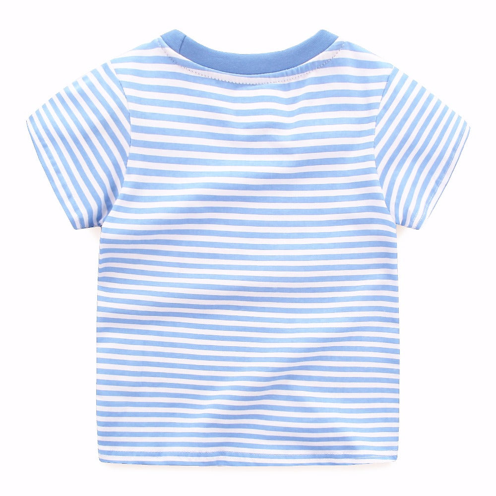 Beep Beep Striped Tees
