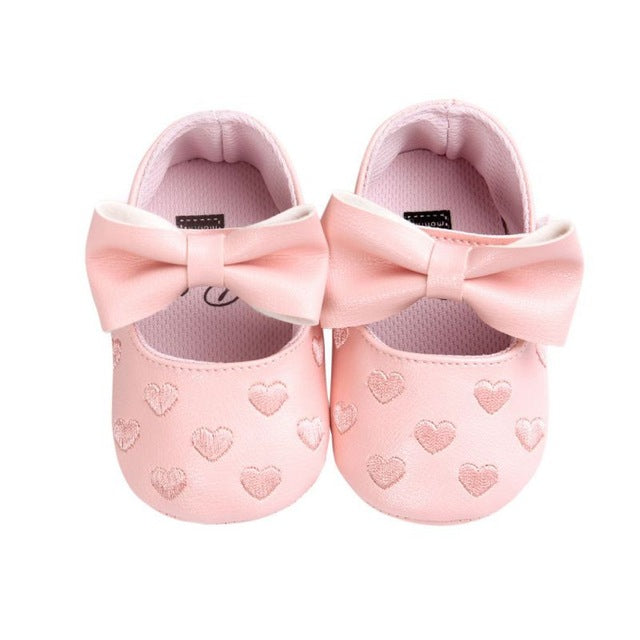 Bow Fringe Babydoll Shoes