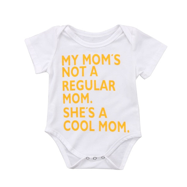 Cool Mom Cotton Short Sleeve Bodysuit