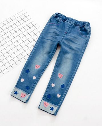 Watermelon Heart Denim