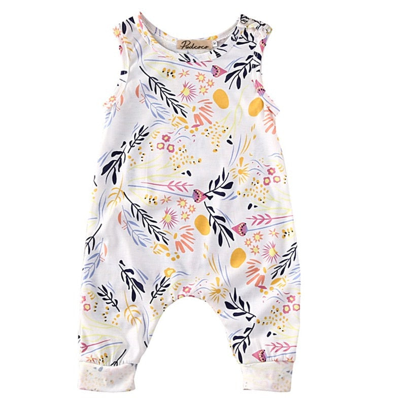 Emma Cute Printed Rompers