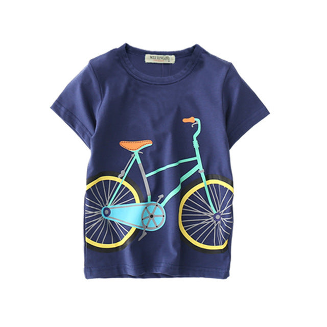 Bicycle Summery T-Shirt