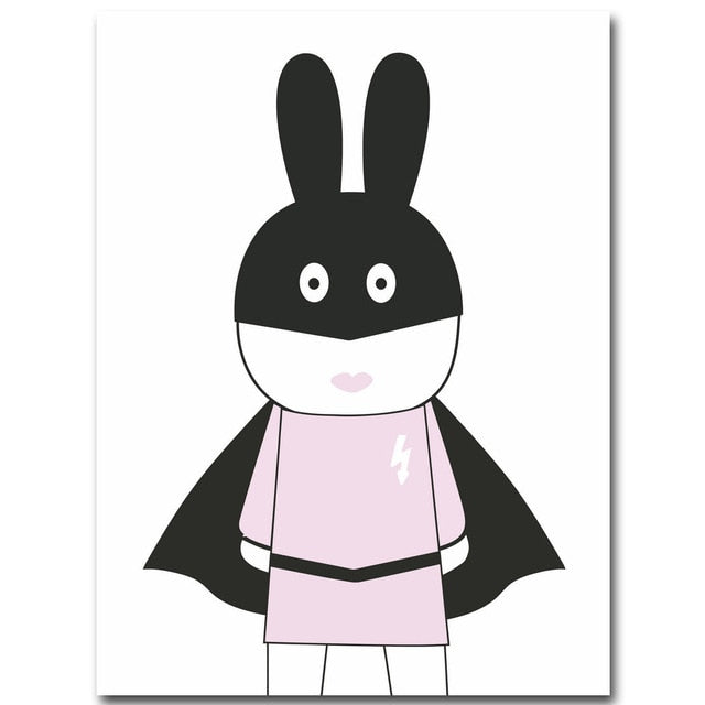 Rabbit Minimalist Wall Art