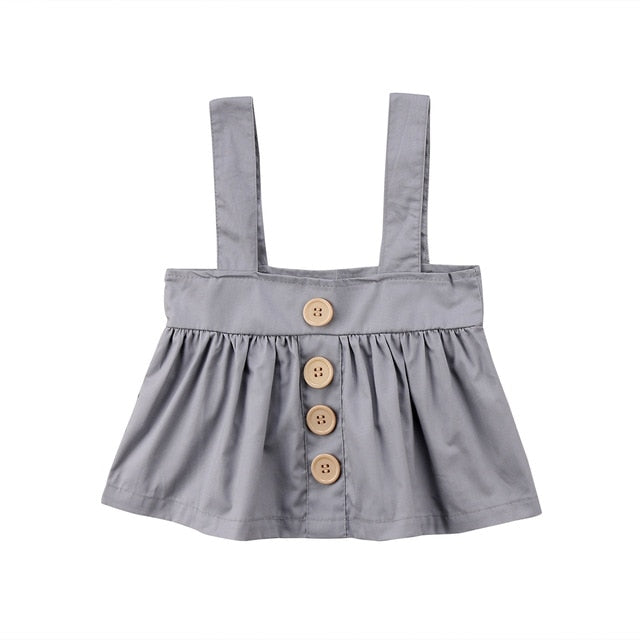 Baby Girls Clothing Strap Bib Skirt