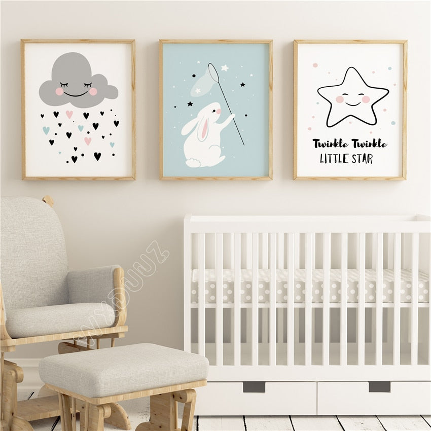 Cute Kids Wall Art