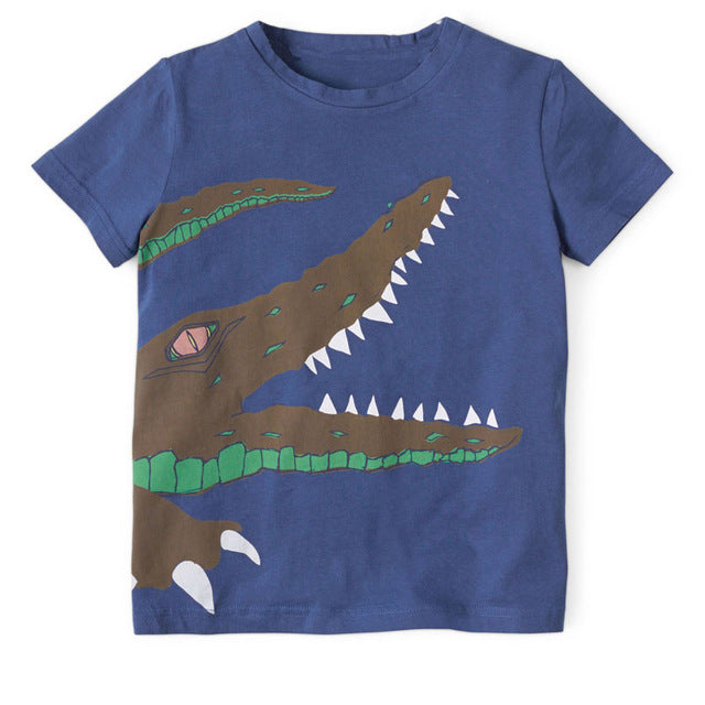 Crocodile Summery T-Shirt