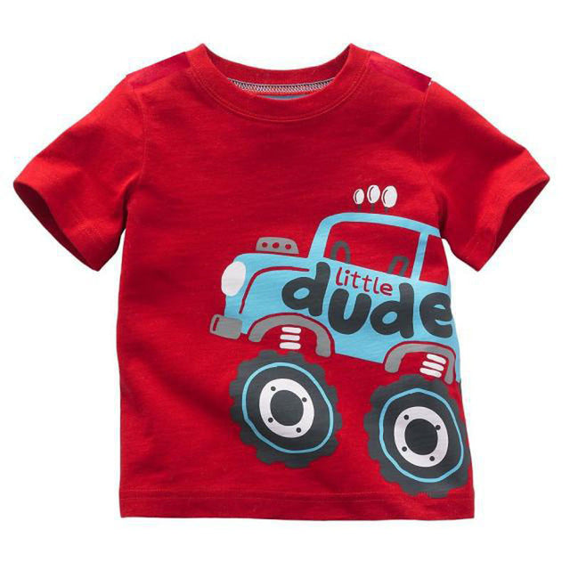 Little Dude Summery T-Shirt