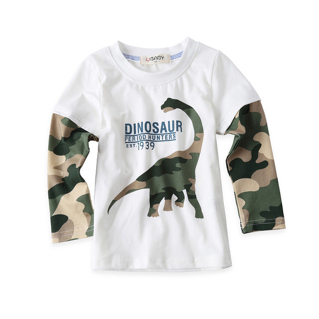 Dino Hunters Sleeves Shirt