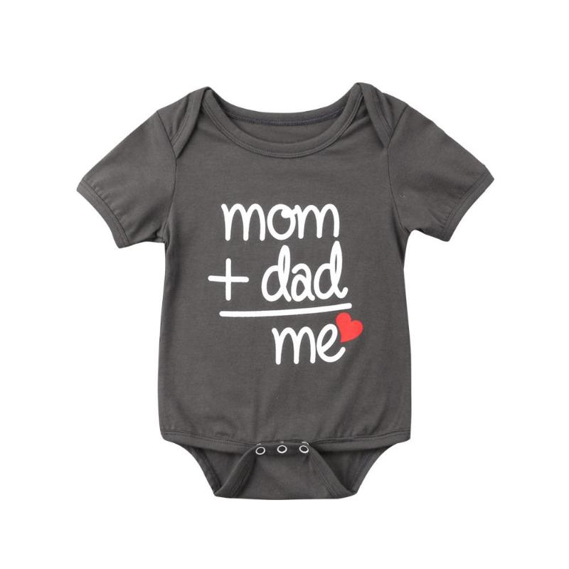 Mom + Dad = Me Bodysuit