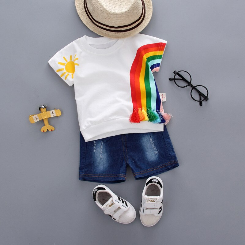 Cute Rainbow Baby Set