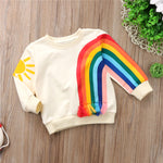Rainbow Pullover Cotton T-Shirt