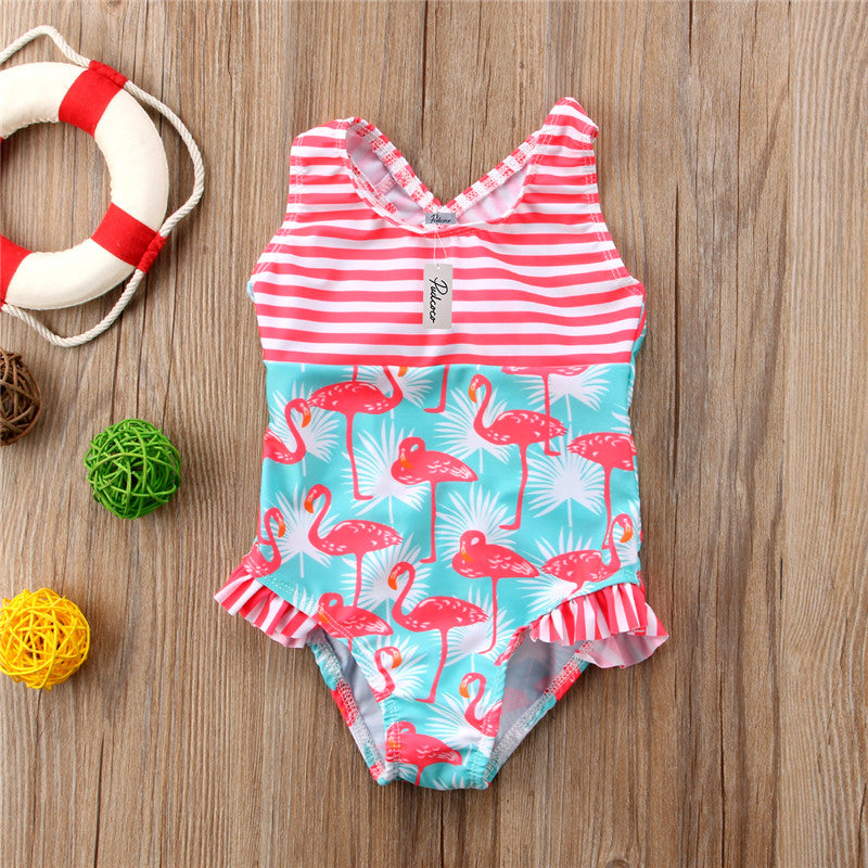 Flamingo Baby One Piece Swimwear